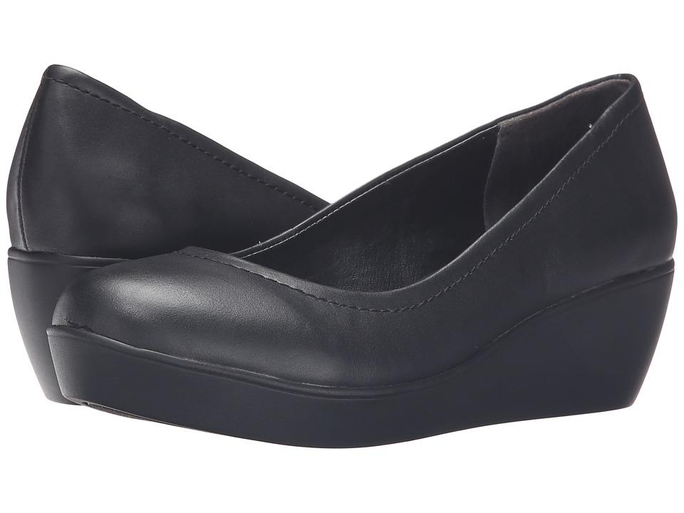 Steven - Fiori (Black) Women's Wedge Shoes