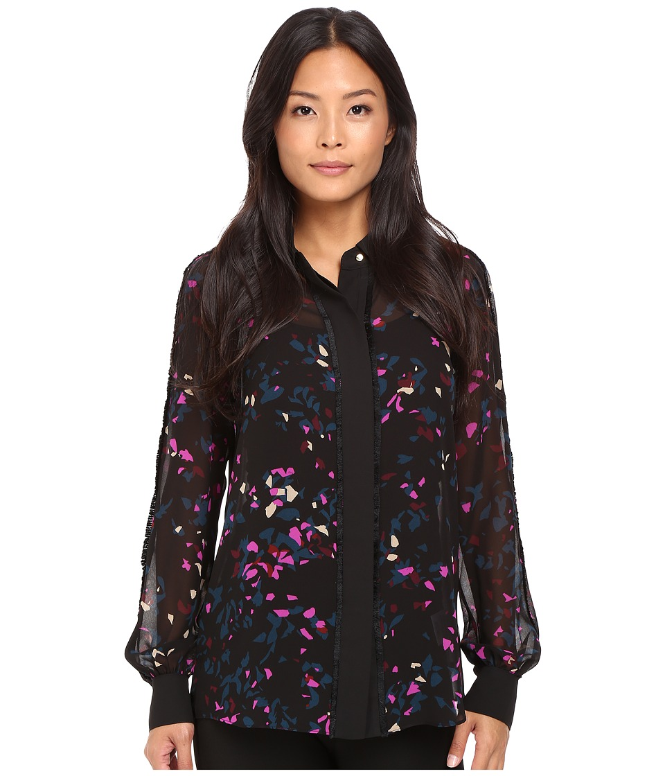 Ellen Tracy - Pajama Shirt (Reflection Multi) Women
