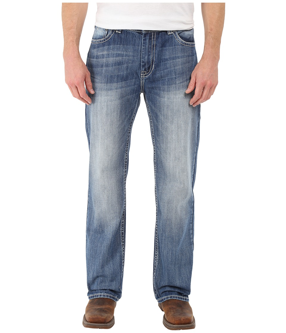 Rock and Roll Cowboy - Double Barrel in Medium Wash M0S7423 (Medium Wash) Men's Jeans