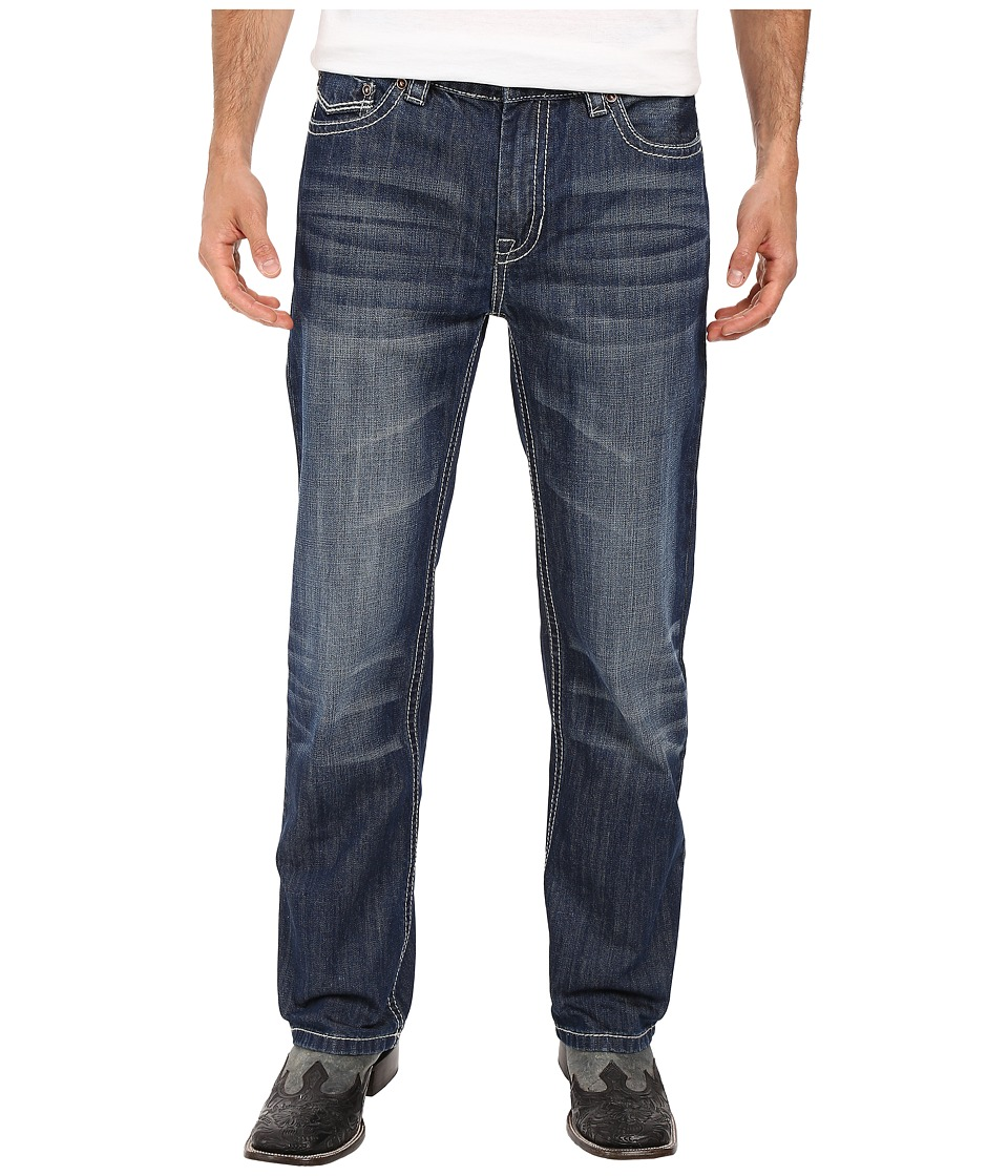 Rock and Roll Cowboy - Double Barrel in Dark Vintage M0S7424 (Dark Vintage) Men's Jeans