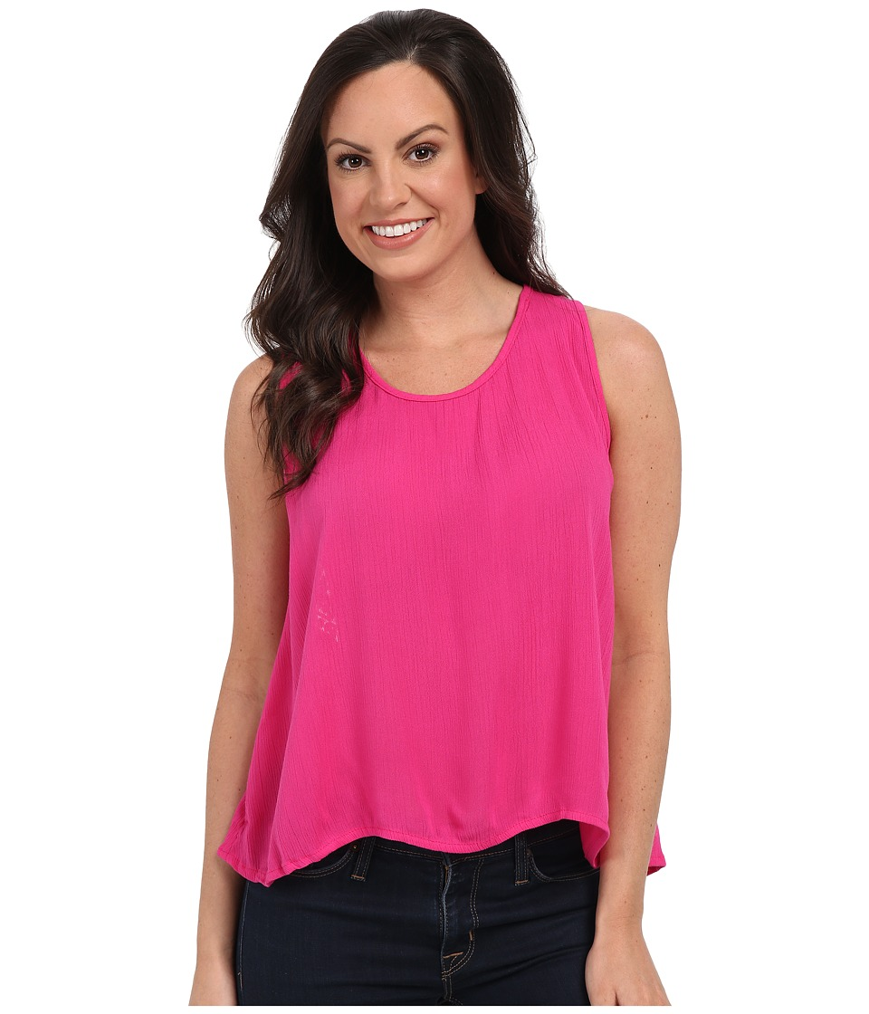 Rock and Roll Cowgirl - Sleeveless Top B5-7320 (Hot Pink) Women's Sleeveless
