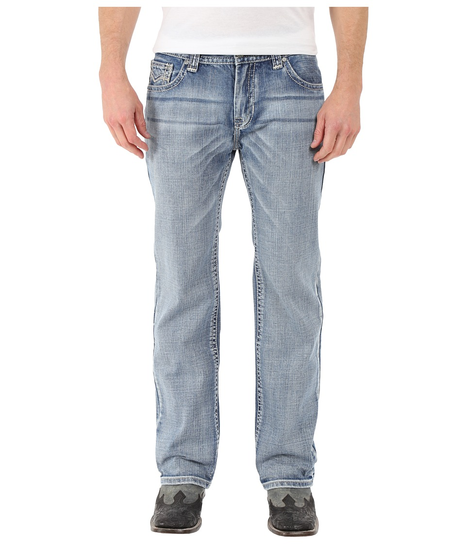 Rock and Roll Cowboy - Pistol Straight Leg in Light Wash M1P7430 (Light Wash) Men's Jeans