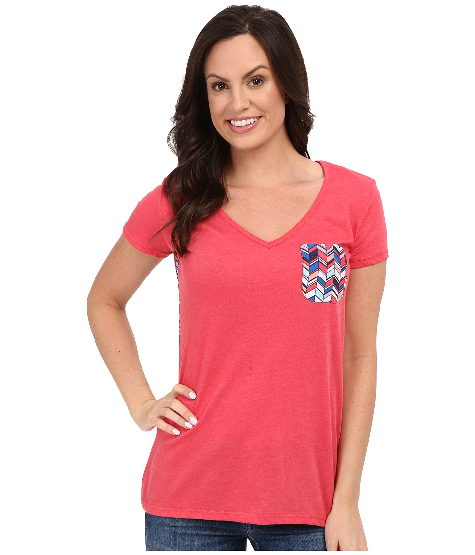 Rock and Roll Cowgirl - Short Sleeve Knit 49T7247 (Hot Pink) Women's Short Sleeve Pullover