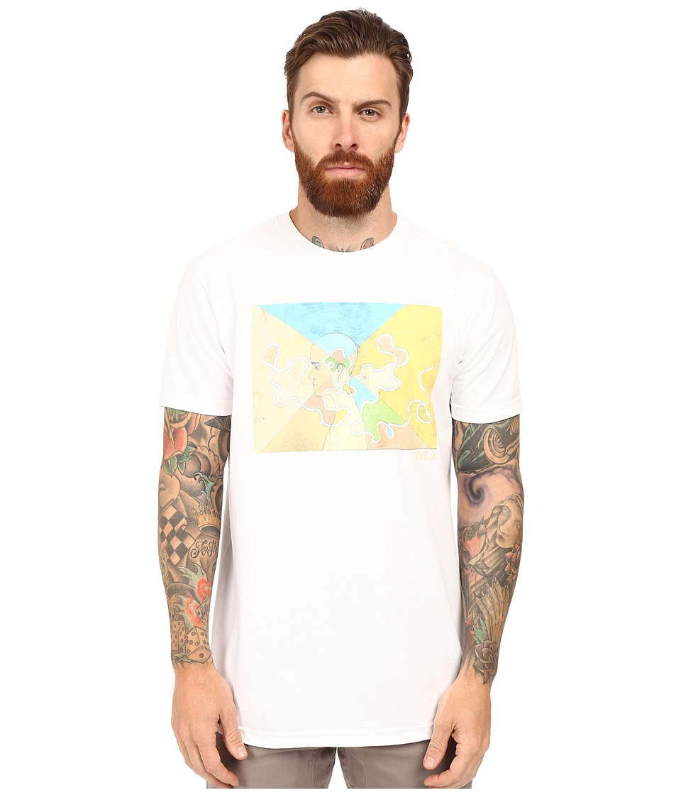 RVCA - ED Envision Tee (White) Men's T Shirt