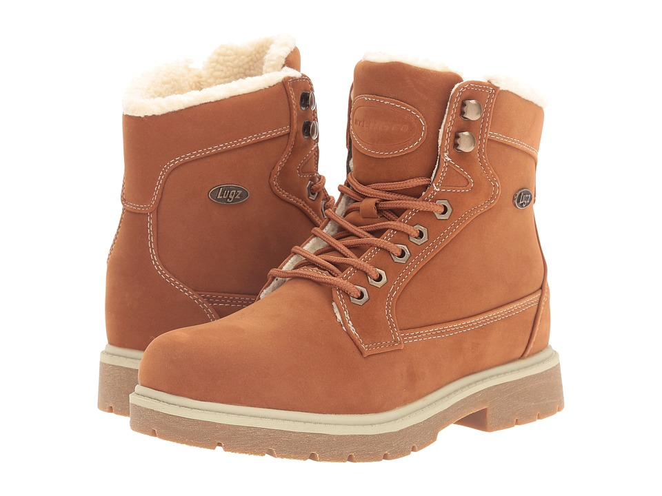 Lugz - Regiment Hi Fleece WR (Rust) Women's Boots