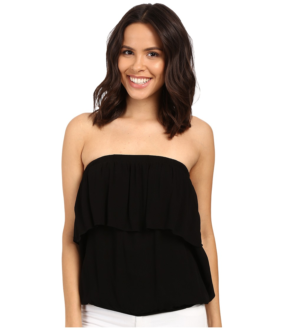 Young Fabulous & Broke - Oceanside Tube Top (Black) Women's Sleeveless