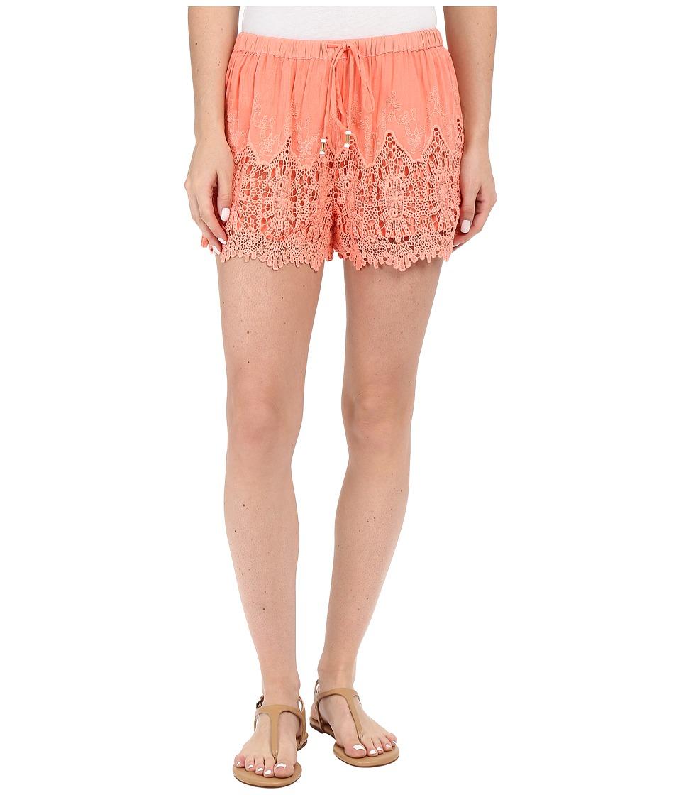 Young Fabulous & Broke - Kaylie Shorts (Melon) Women's Shorts