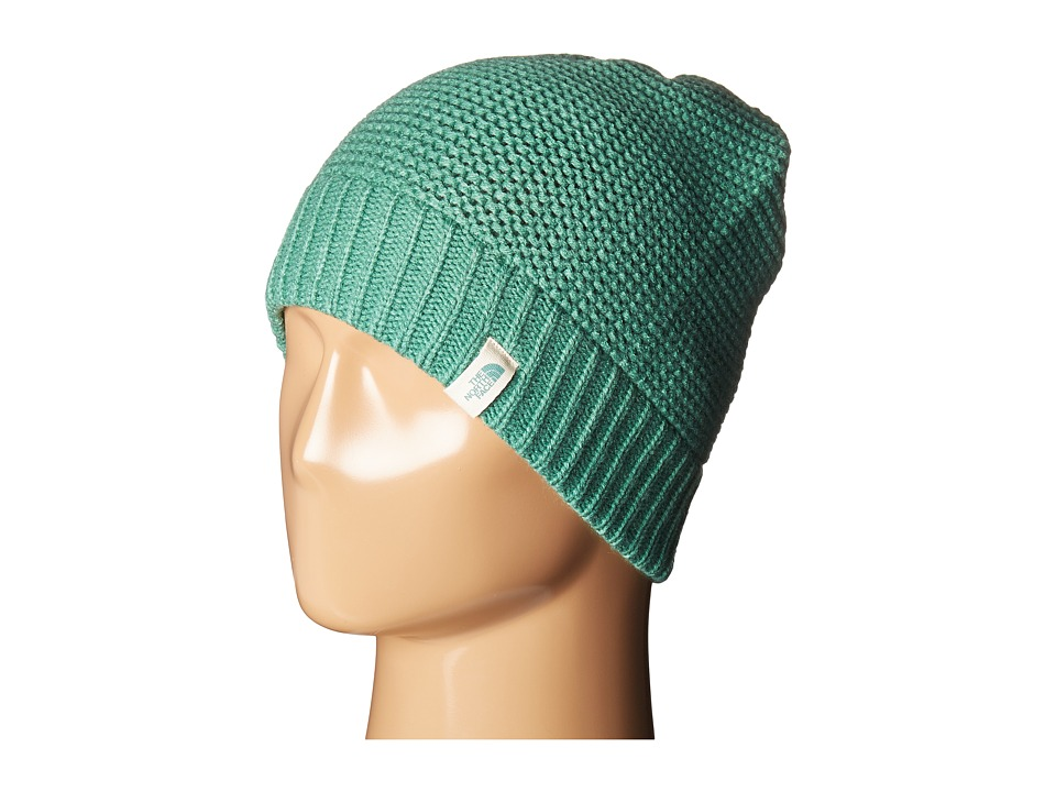 The North Face - Purrl Stitch Beanie (Deep Sea) Beanies