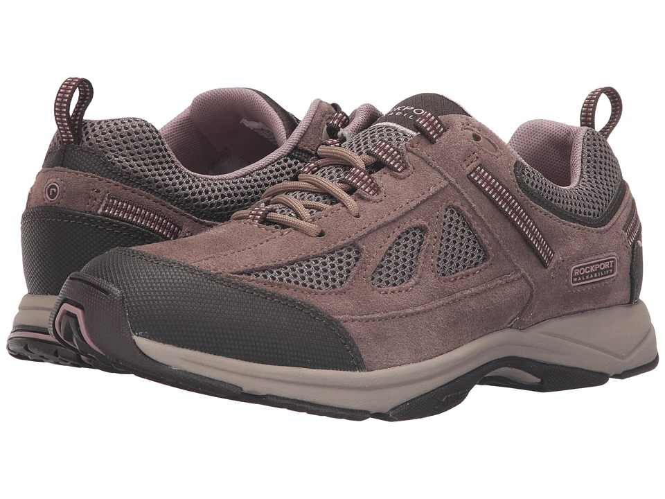 Rockport - Sidewalk Expressions Jelena (New Taupe Suede/Mesh) Women
