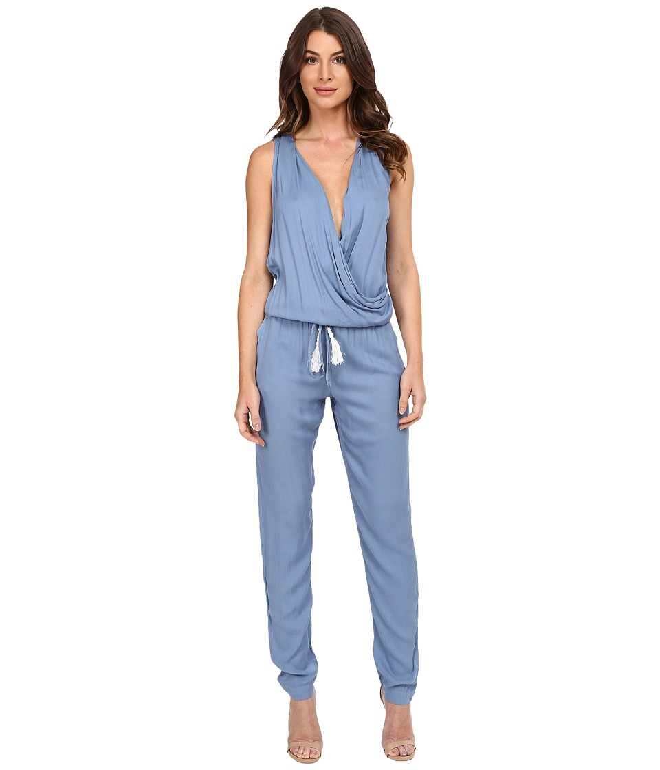 Young Fabulous & Broke - Cait Jumpsuit (Chambray) Women's Jumpsuit & Rompers One Piece