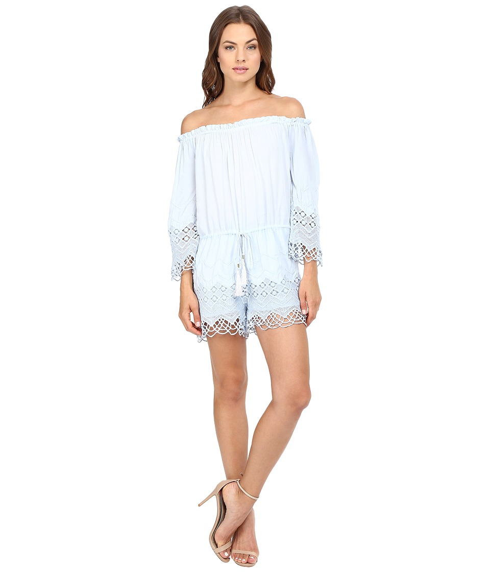 Young Fabulous & Broke - Sloan Romper (Chambray) Women's Jumpsuit & Rompers One Piece