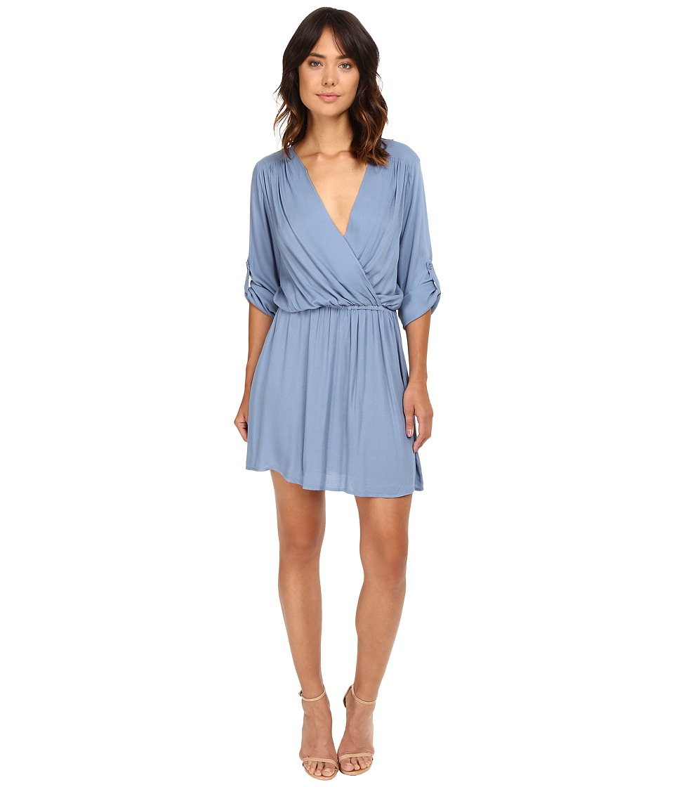 Young Fabulous & Broke - April Dress (Chambray) Women's Dress