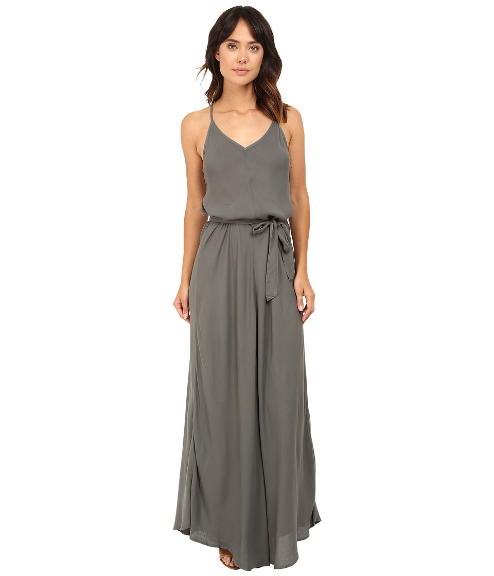 Young Fabulous & Broke - Carla Maxi (Olive) Women's Dress
