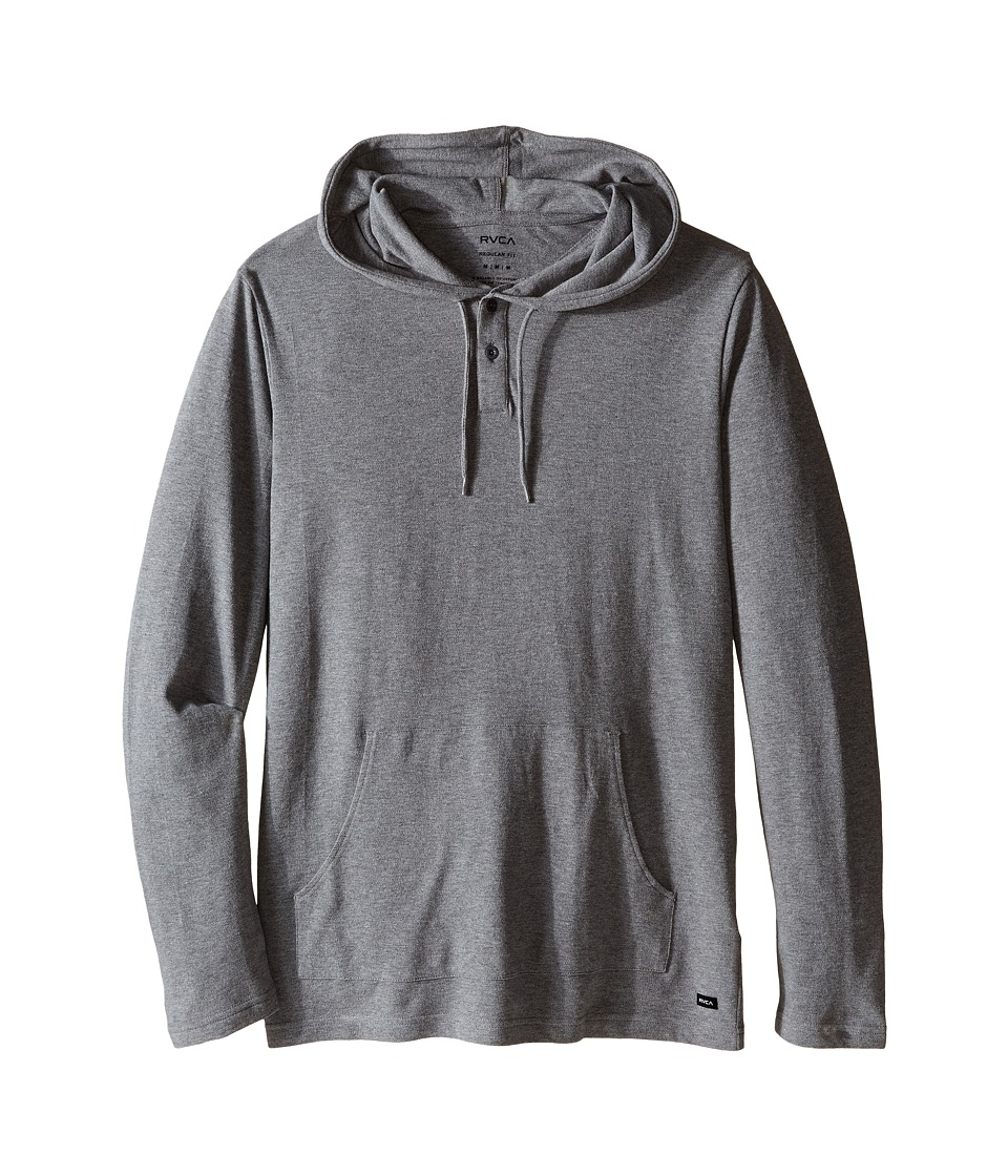 RVCA - Pick Pullover Knit II (Grey Noise) Men's Clothing