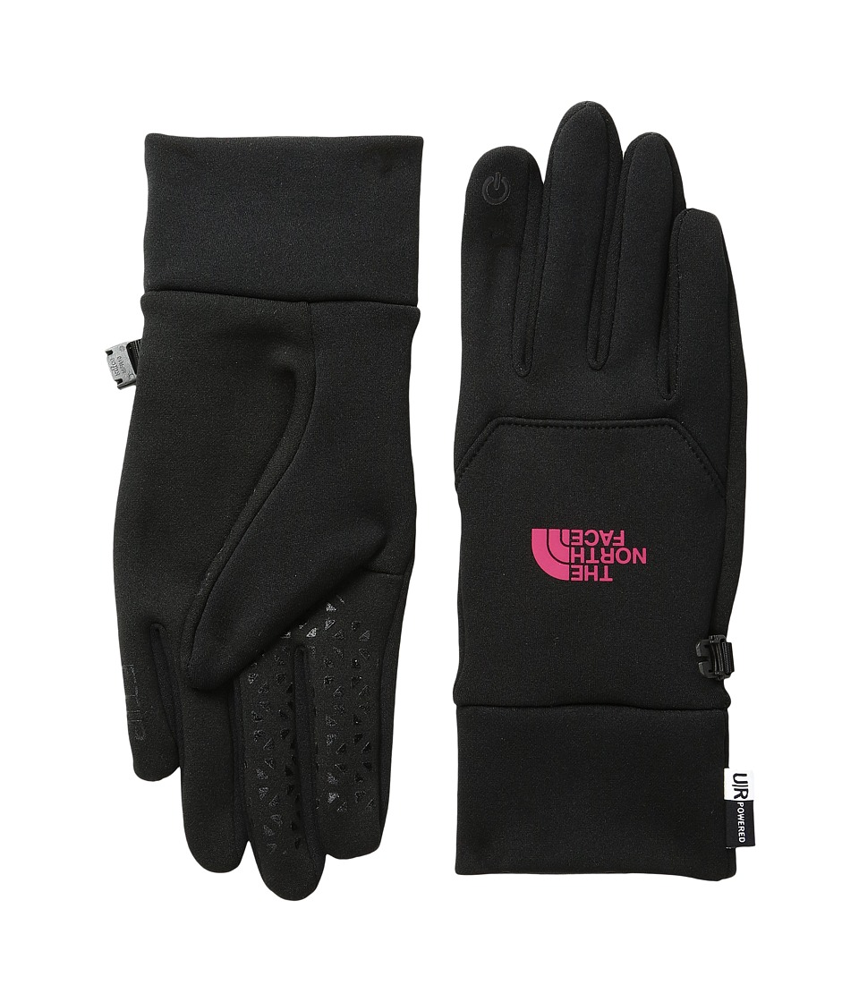 The North Face Etip Gloves (TNF Black/Cerise Pink) Snowboard Gloves