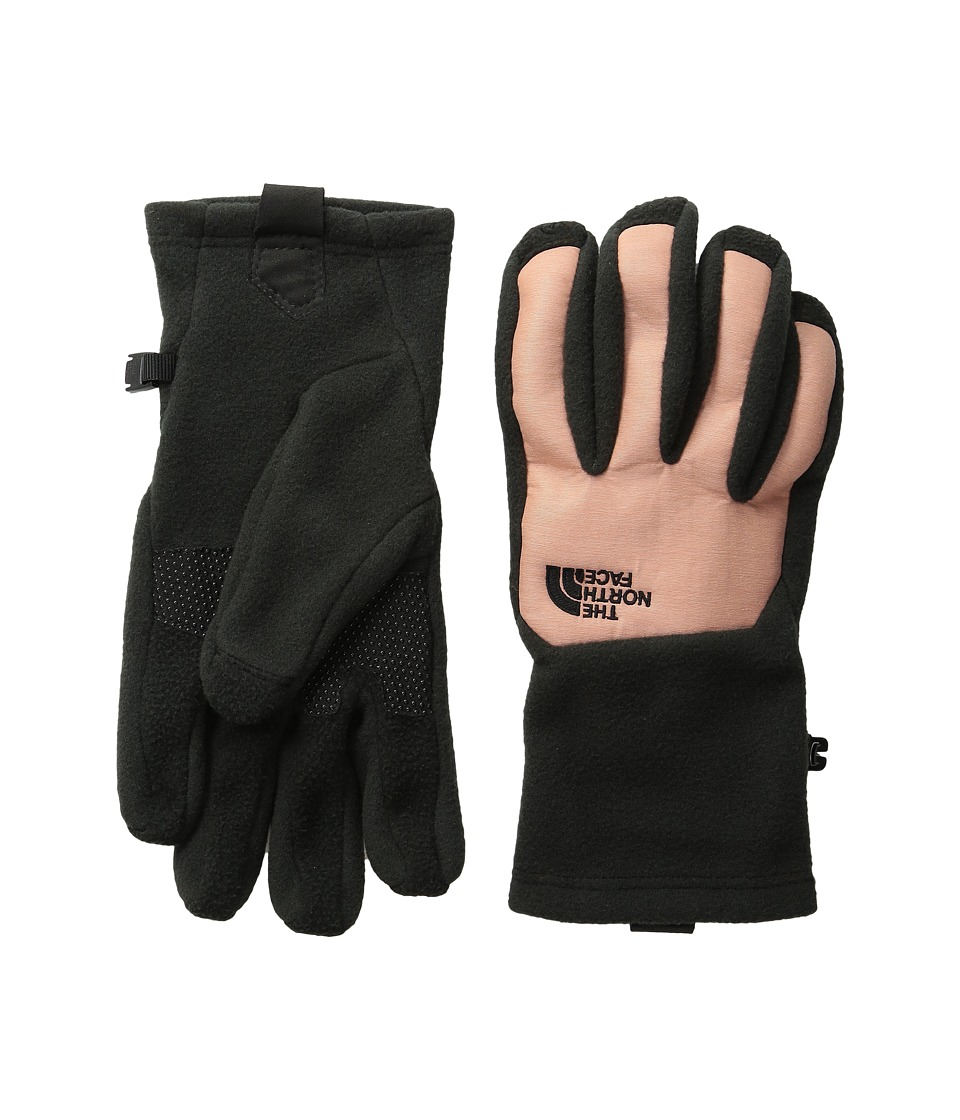 The North Face - Women's Denali Etip Glove (TNF Black/Rose Dawn Heather) Extreme Cold Weather Gloves
