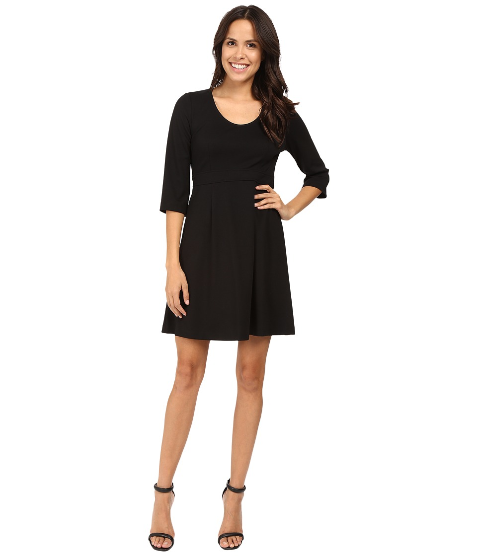 Karen Kane A-Line Dress (Black) Women