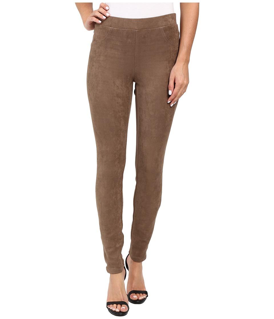 Karen Kane Faux Suede Pants (Mushroom) Women's Casual Pants