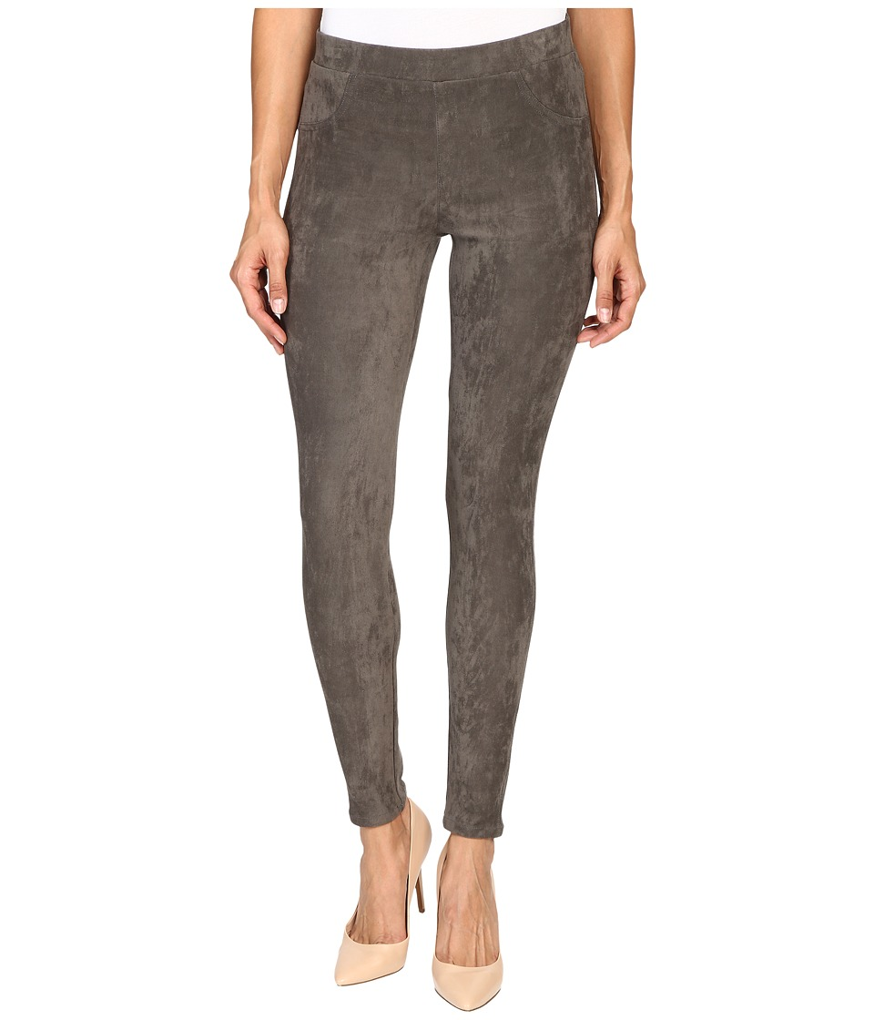 Karen Kane - Faux Suede Pants (Slate) Women's Casual Pants