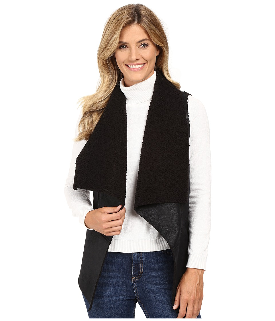 Karen Kane - Faux Fur Vest (Black 2) Women's Vest