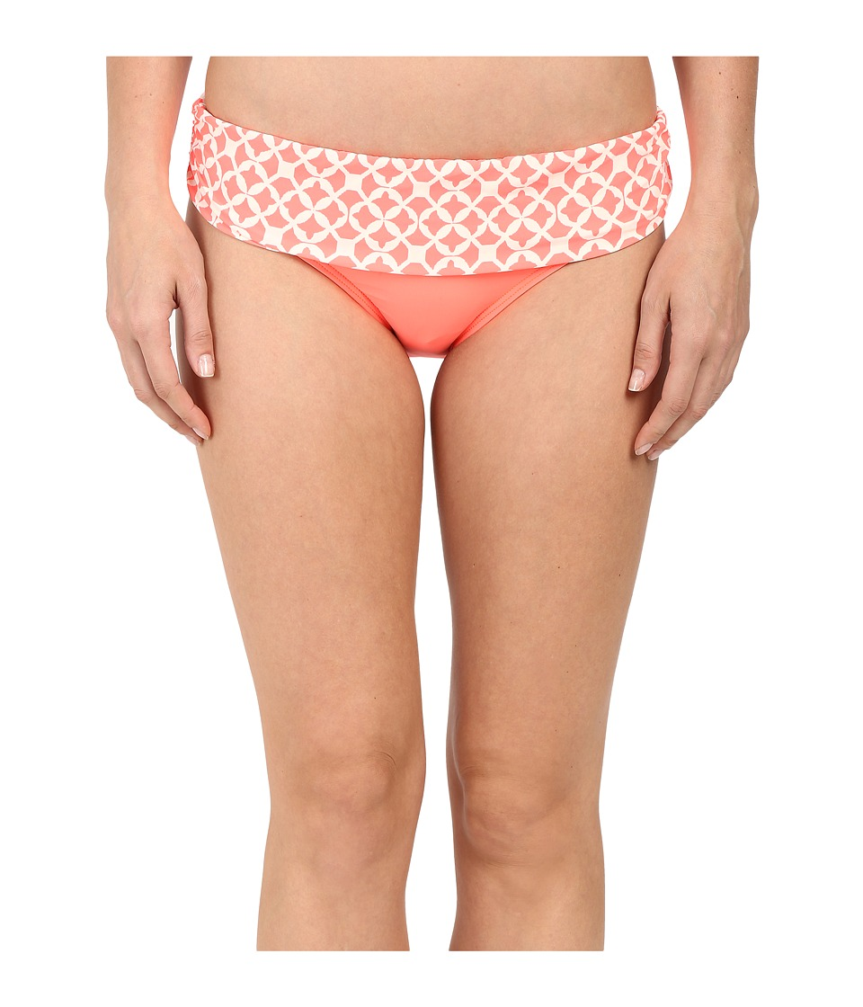 Athena - Coastal Geo Banded Pant Bottom (Orange) Women's Swimwear