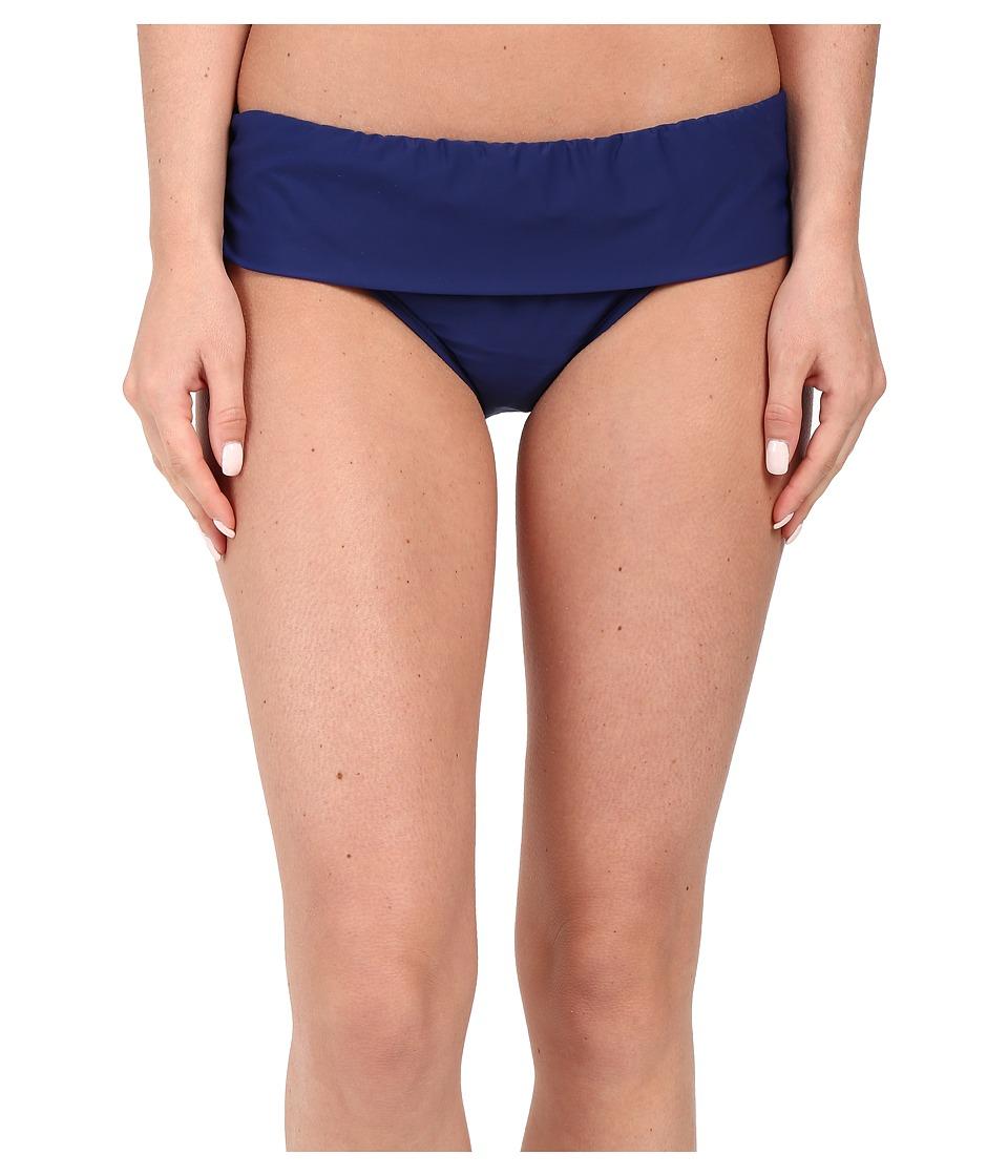 Athena - Cabana Solids Banded Pant (Navy) Women's Swimwear