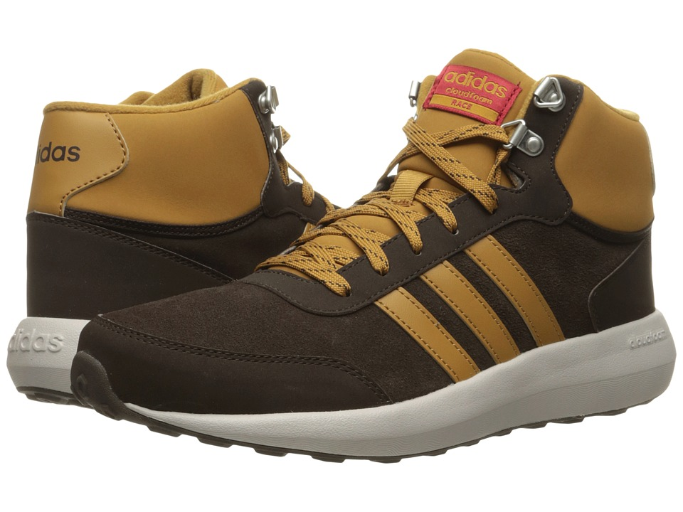 adidas Cloudfoam Race Winter Mid (Dark Brown/Mesa/Pearl Grey) Men