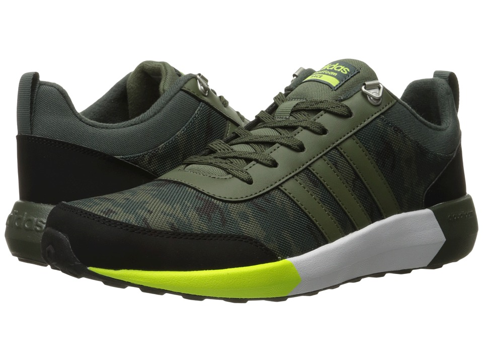 adidas Cloudfoam Race Winter (Utility Ivy/Base Green/Solar Yellow) Men