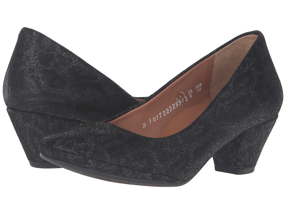 Mephisto - Paldi (Black Print) Women's Shoes