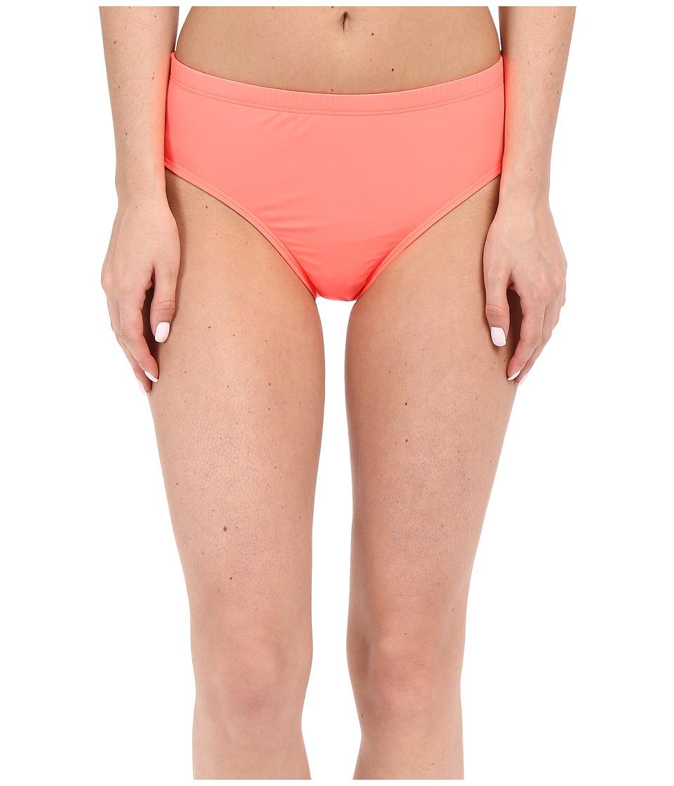 Athena - Cabana Solids Mid Waist Pant (Tangerine) Women's Swimwear