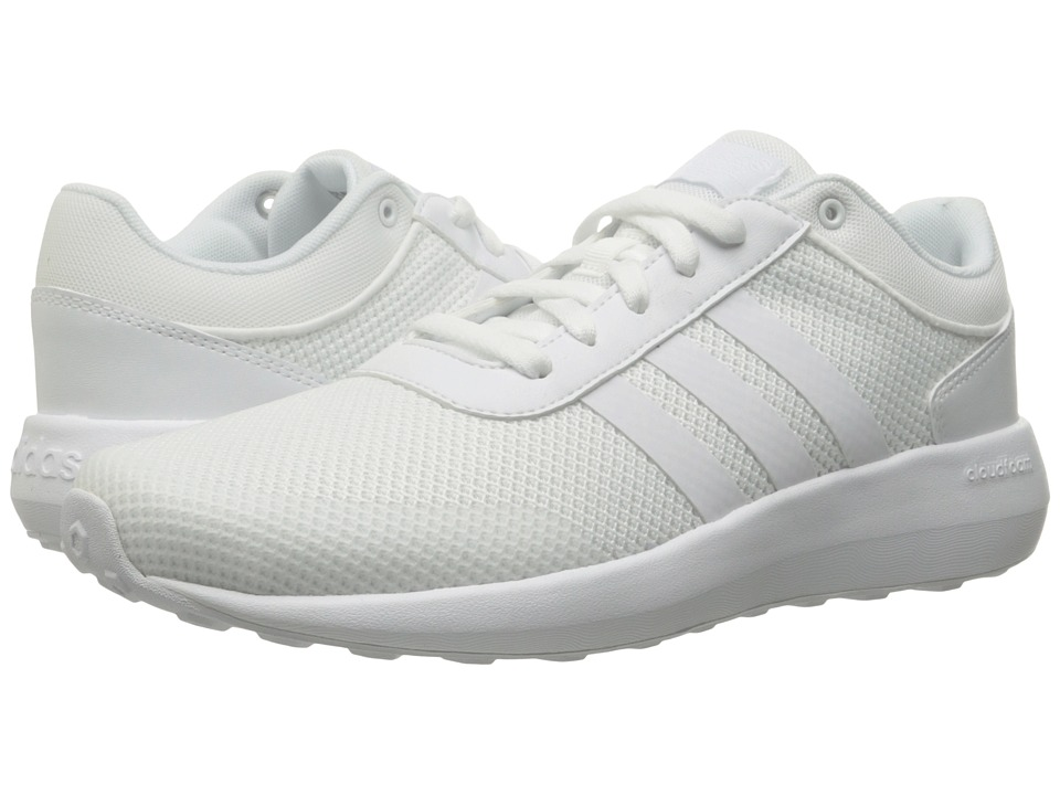 adidas - Cloudfoam Race (Running White/Running White/Running White) Men's Shoes