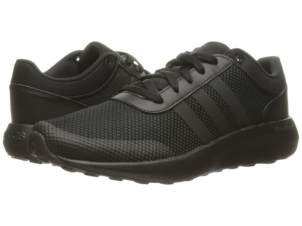 adidas - Cloudfoam Race (Black/Black/Black) Men's Shoes