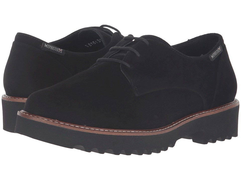 Mephisto - Sabatina (Black Velcalf Premium) Women's Shoes