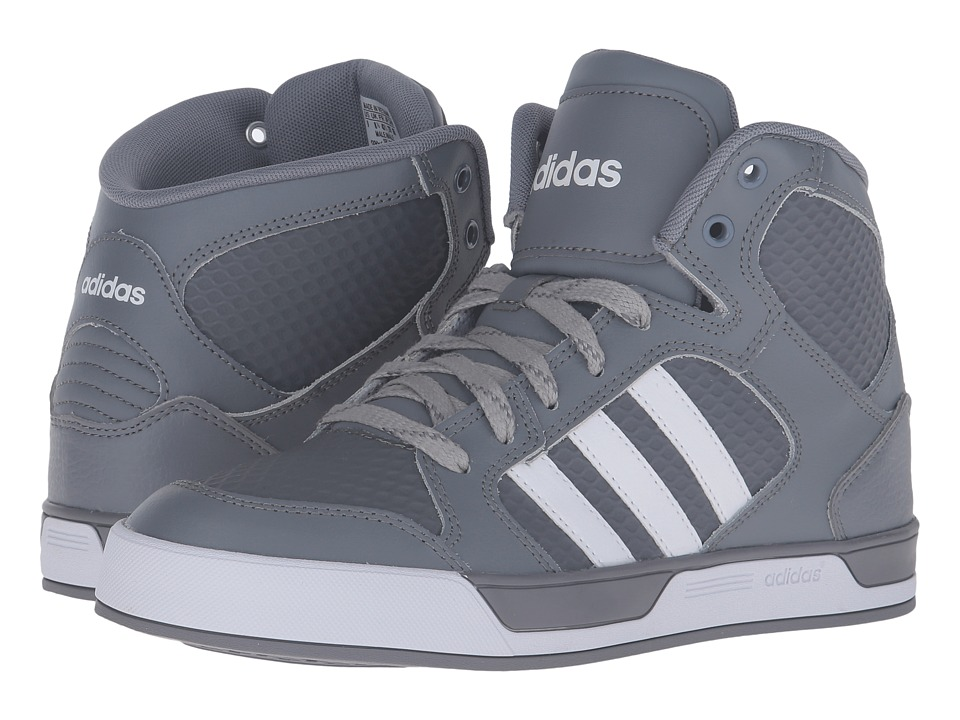 adidas - Raleigh Mid (Grey/Running White/Grey/Running White/Clear Onix) Men's Shoes