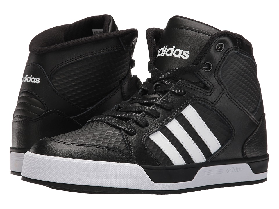 adidas - Raleigh Mid (Black/White/Black/White/Grey) Men's Shoes