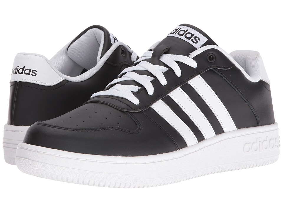 adidas - Team Court (Core Black/Footwear White/Footwear White) Men's Basketball Shoes