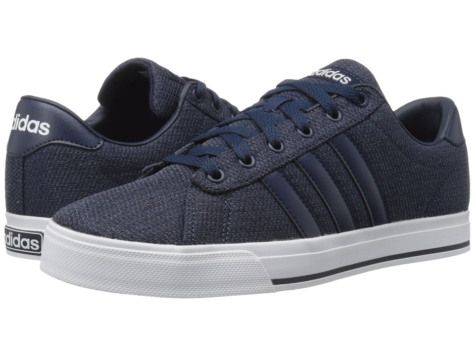 adidas - Daily (Collegiate Navy/Navy/White) Men's Shoes