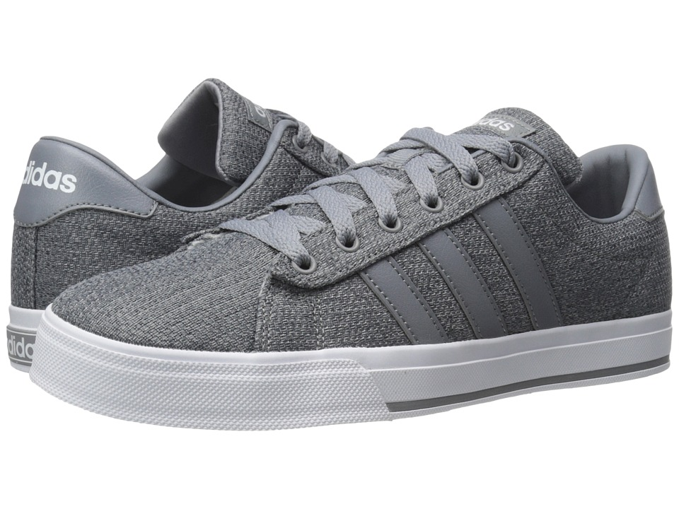 adidas - Daily (Grey/White) Men's Shoes