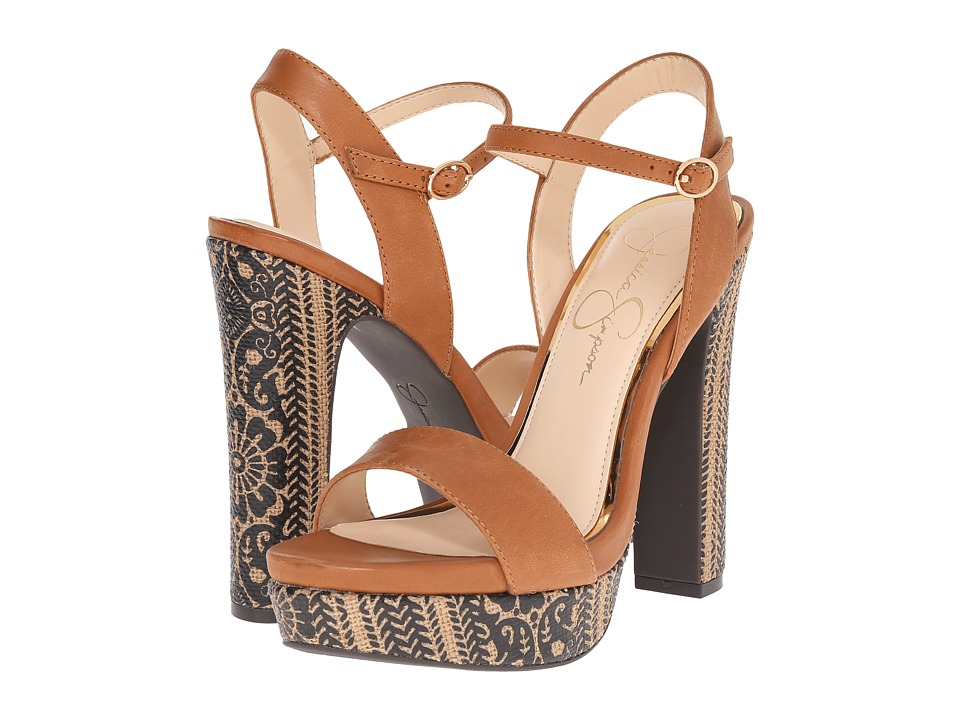 Jessica Simpson Blaney (Autumn Umber Mari Buff) High Heels