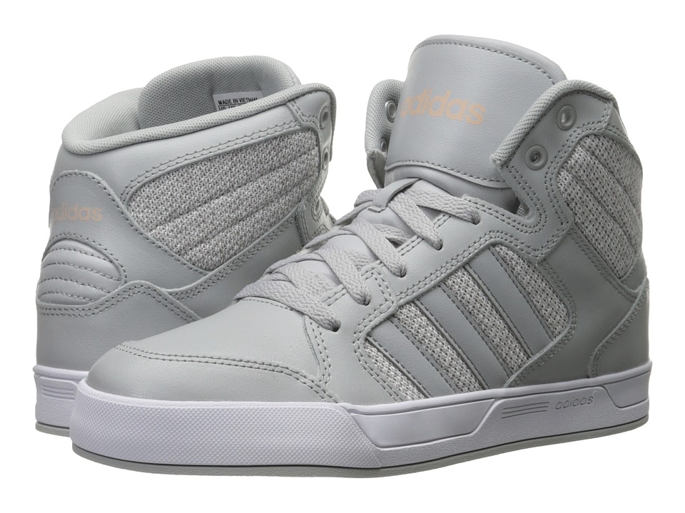 adidas - Raleigh Mid (Clear Onix/White) Women's Basketball Shoes