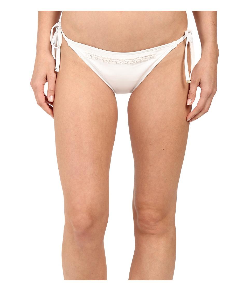 MICHAEL Michael Kors - Bohemian Rhapsody Beaded String Bottom (White) Women's Swimwear