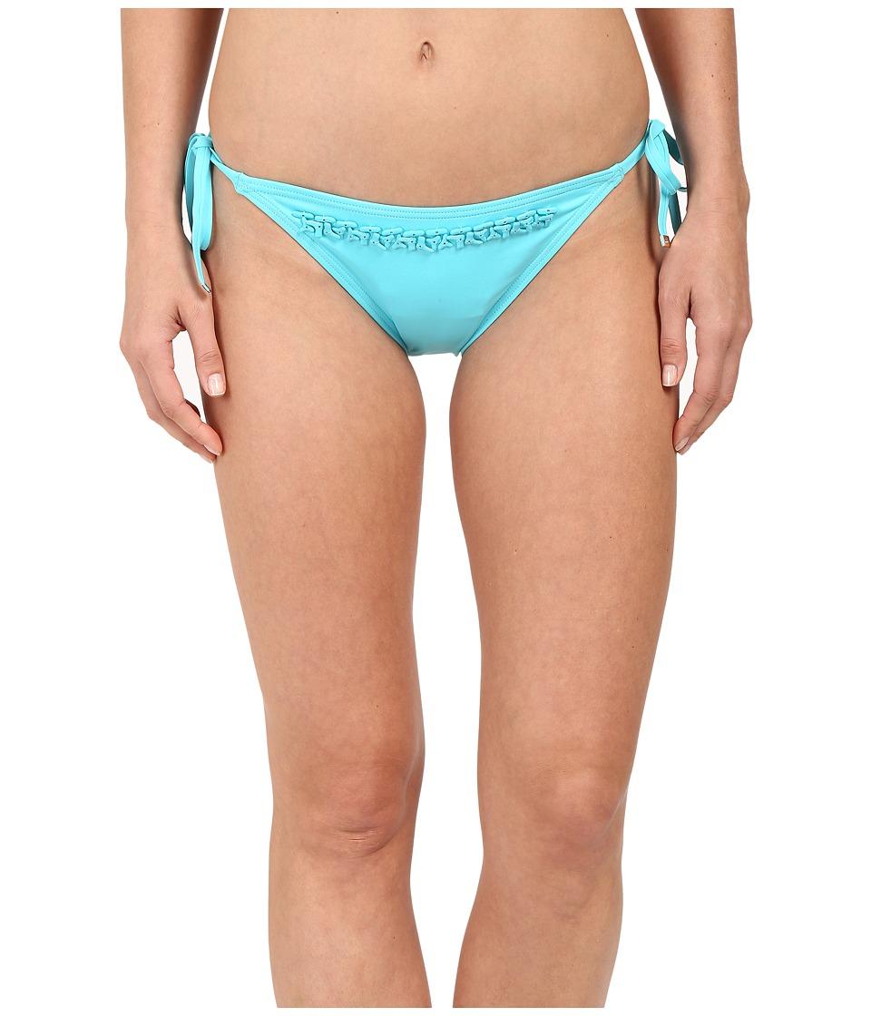 MICHAEL Michael Kors - Bohemian Rhapsody Beaded String Bottom (Turquoise) Women's Swimwear