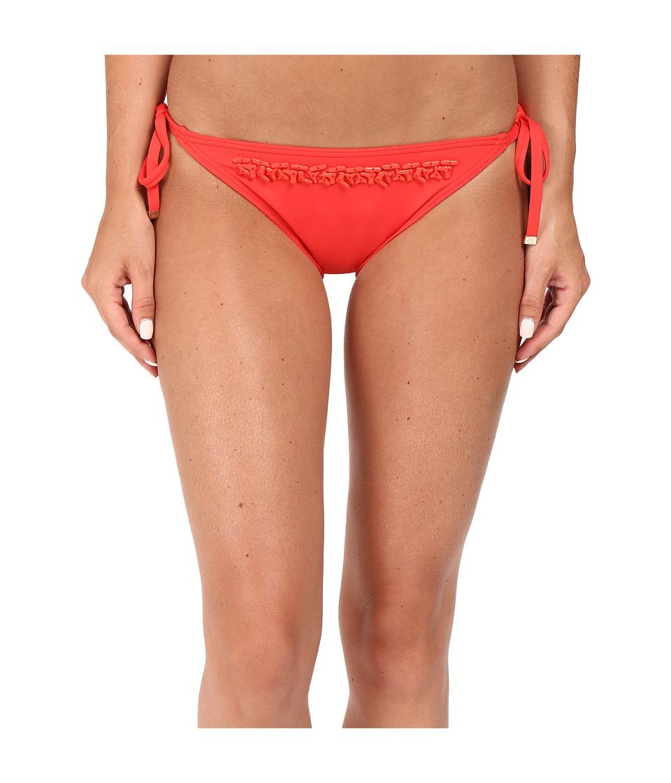 MICHAEL Michael Kors - Bohemian Rhapsody Beaded String Bottom (Coral) Women's Swimwear