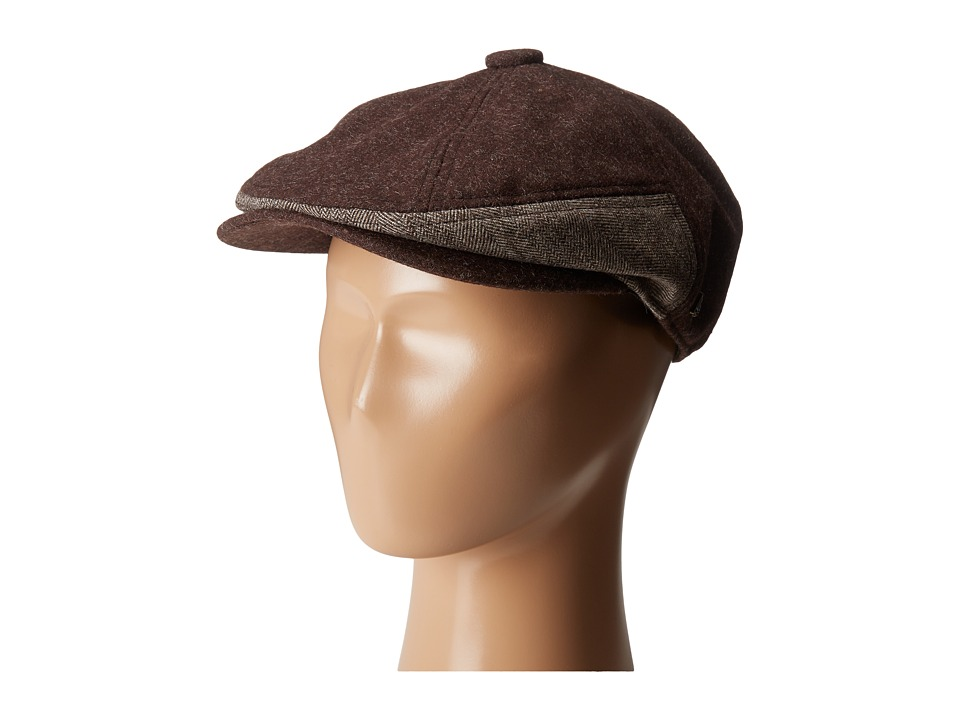 New Era - Fabric Mix 7 Panel Driver (Brown) Caps