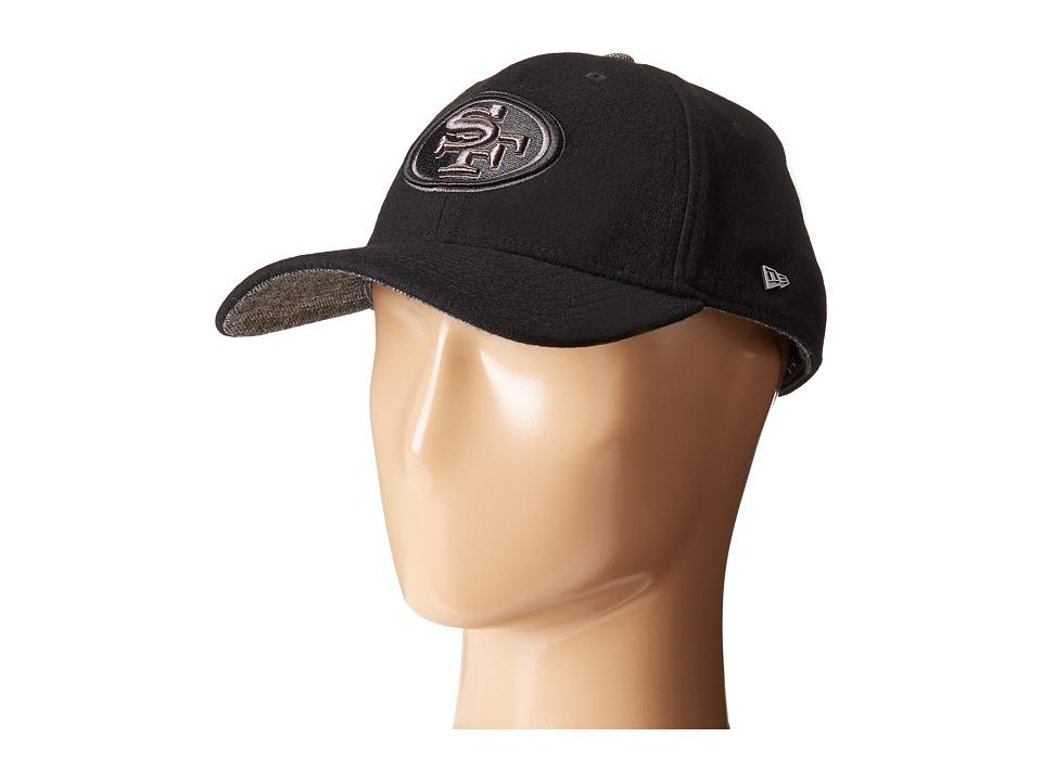 New Era - Fabric Mix 4940 San Francisco 49ers (Black) Caps