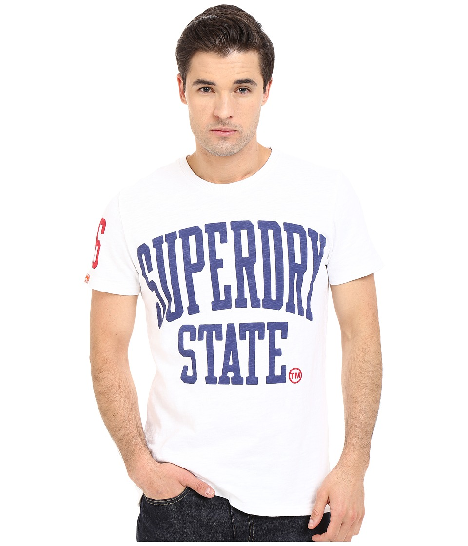 Superdry - State Rebel Tee (Optic) Men's T Shirt