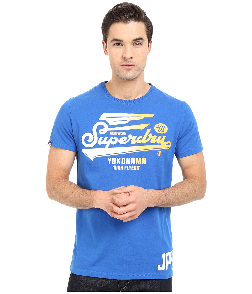 Superdry - High Flyers Tee (Royal Blue) Men's T Shirt