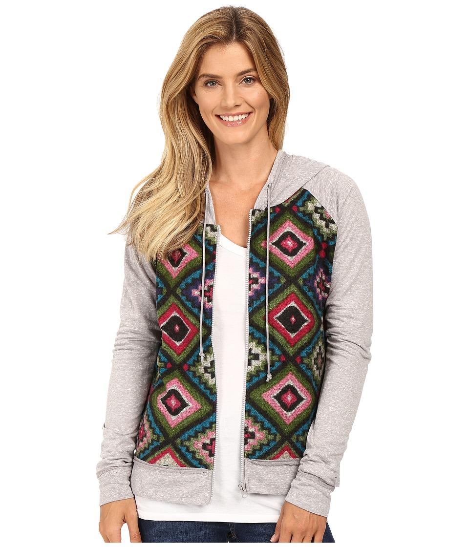 Roper - French Terry Hoodie (Grey) Women's Sweatshirt