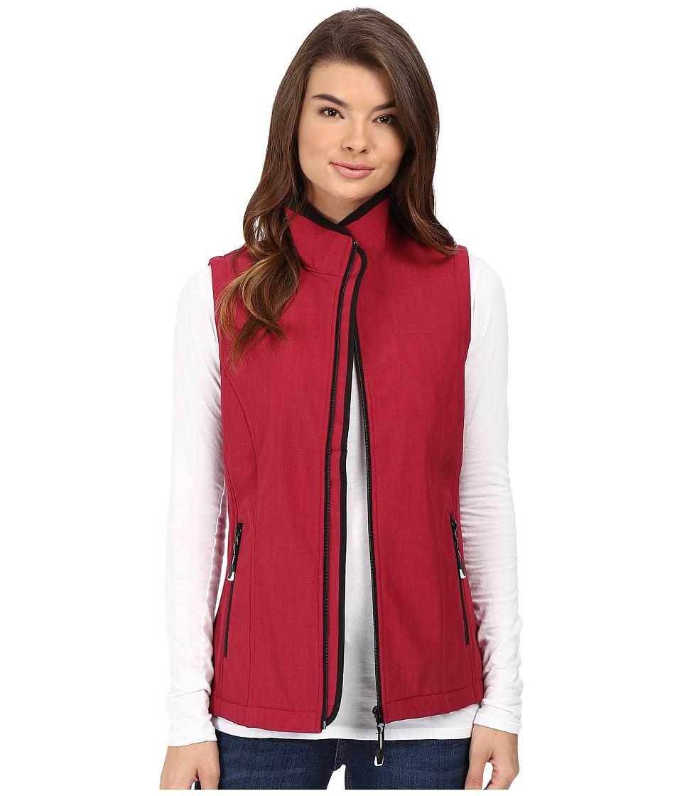 Roper - Printed Softshell Vest (Pink) Women's Vest