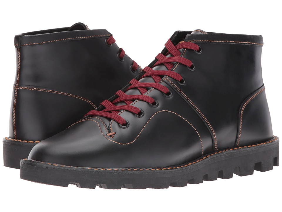 COACH - Boxing Boot (Black) Men's Boots